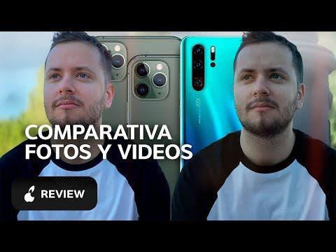 iPhone 11 Pro vs Huawei P30 Pro cámara, comparativa de fotos y video