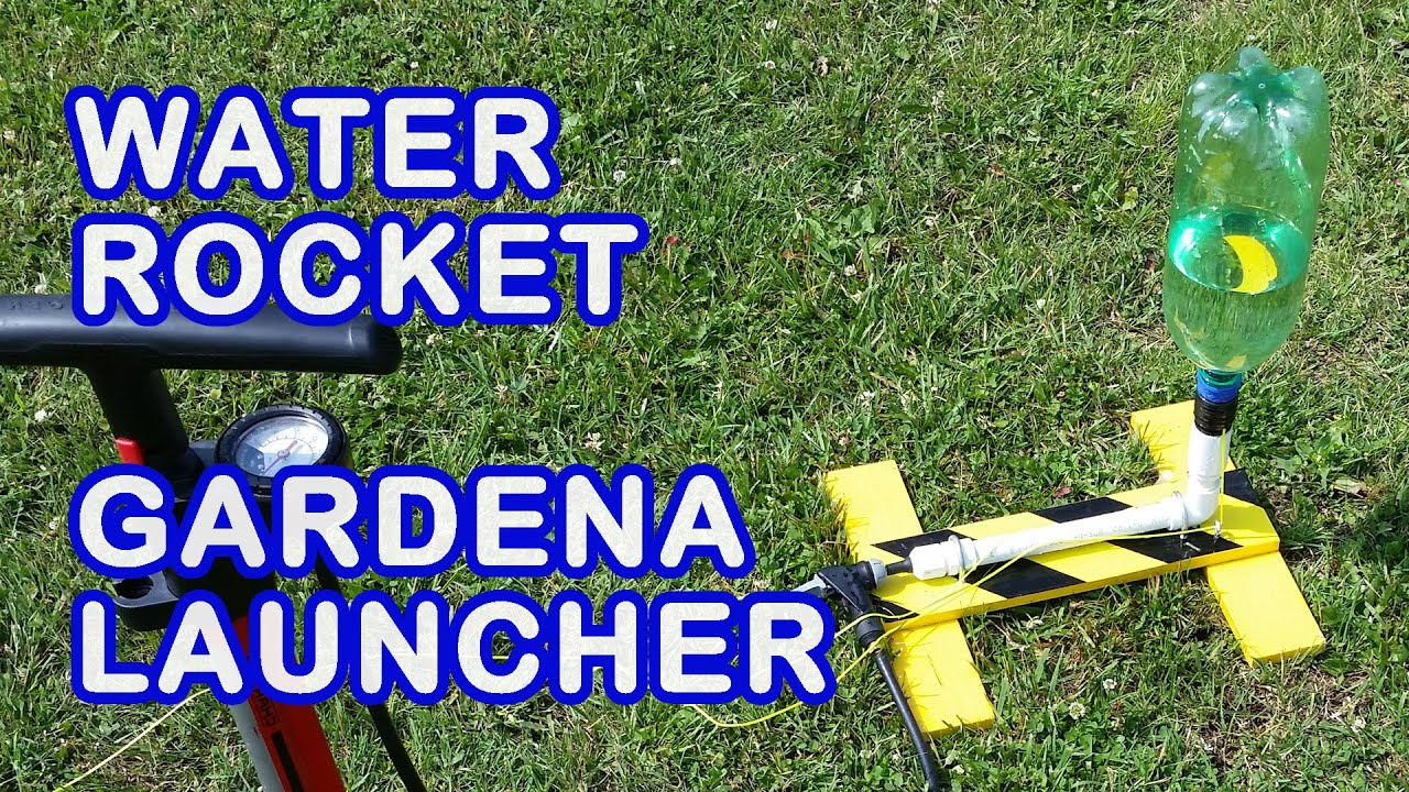 How to Make a Gardena Launcher for Water Rocket Video Tutorial