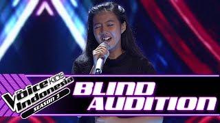 Video Echa - Hurt   Blind Auditions   The Voice Kids Indonesia Season 3 GTV 2018 MP3, 3GP, MP4, WEBM, AVI, FLV Juli 2018