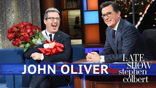 John Oliver's 'Late Show' Lifetime Achievement Award