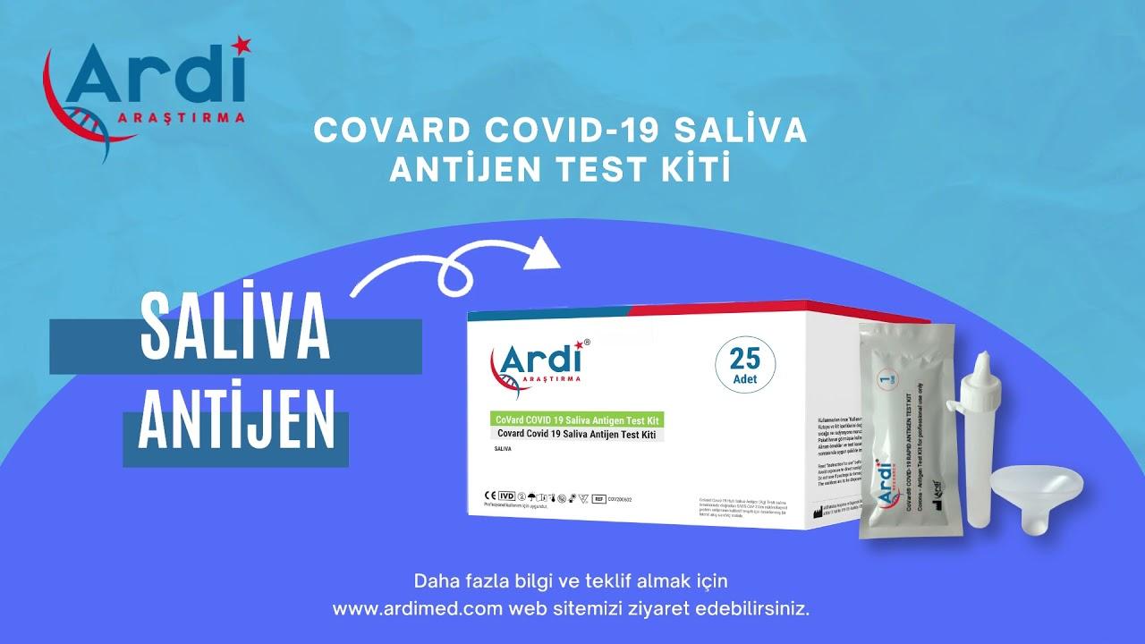 CoVard Covid-19 Saliva Antijen Test Kiti