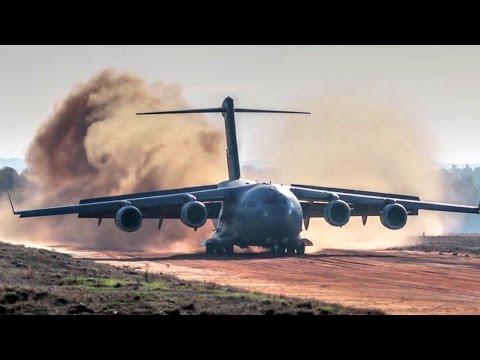 An U.S. Air Force C-17 Globemaster...