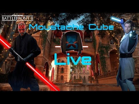 Moustache - Battlefront 2 live stream - Waiting for Anakin!