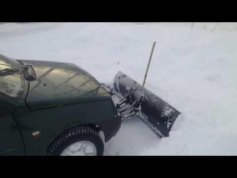 Отвал для легковой машины
