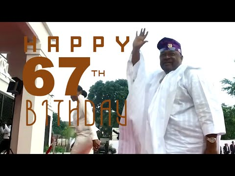 MIKE ADENUGA CELEBRATES 67TH BIRTHDAY IN GRAND STYLE  OUR GREAT LEADER AND PHILANTHROPIST