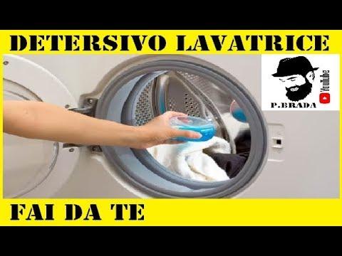 come fare in casa il detersivo per la lavatrice