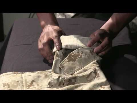 Roll - Sgt. Donell Bryant gives a period of instruction on how to make sure your sleeves are good to go. Produced by: Eric Moreno ----------------------------------...
