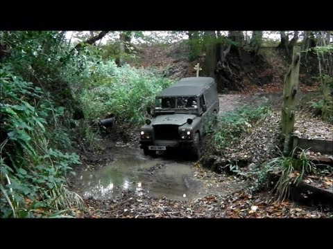 Bletchingley Green Lane Byway - Land Rover Series 3