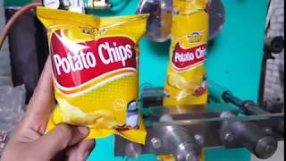 Lays / Potato Chips Packing Machine | Multipurpose Packing Machine for Dry Fruit Slanty Nimko etc