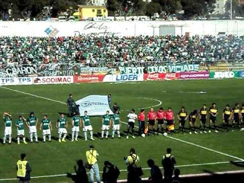 Los Panzers salida Wanderers Clásico Porteño 2010 - Los Panzers - Santiago Wanderers