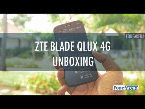 ZTE Blade Qlux 4G Unboxing