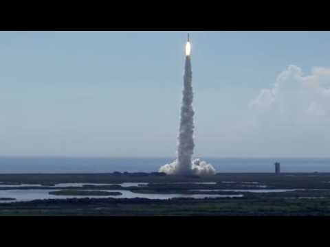 United Launch Alliance launches its fifth rocket of the year carrying a surveillance satellite for the National Reconnaissance Office.