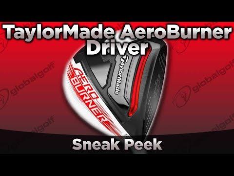 TaylorMade AeroBurner Driver Sneak Peek
