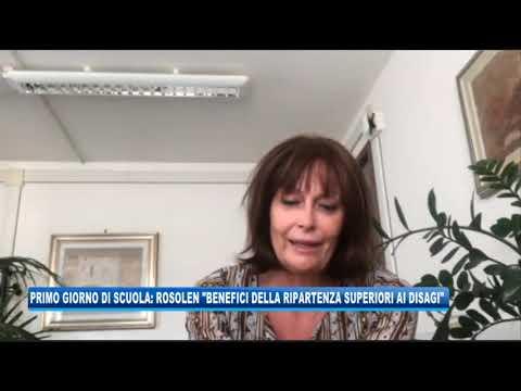 """16/09/2020 - PRIMO GIORNO DI SCUOLA, ROSOLEN: """"BENEFICI SUPERIORI AI DISAGI"""""""