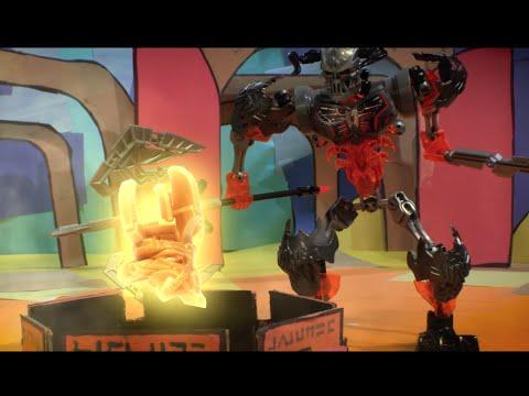 BIONICLE: Mask Maker vs Skull Grinder - LEGO Build Zone - Season 2 Episode 17