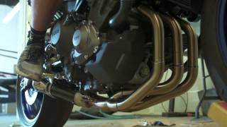 8. Two Brothers Racing - 2014 Yamaha FZ-09 Full Race Exhaust System