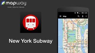 New York MTA Subway Map (NYC) YouTube video