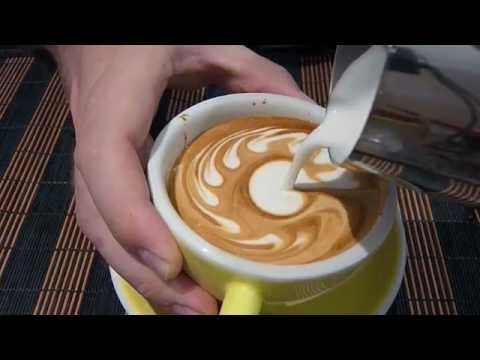 disegni sul cappuccino: l'artista che incanta il web