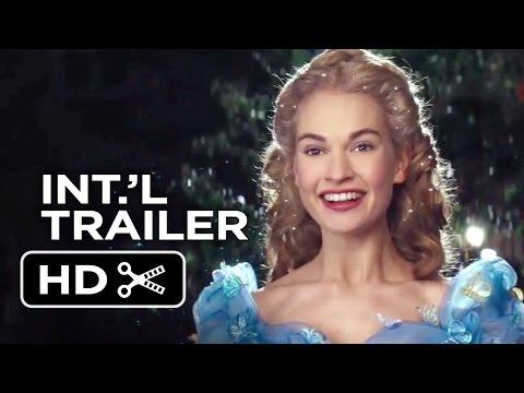 Cinderella Official International Trailer #1 (2015) - Helena Bonham Carter, Lily James Movie HD thumbnail