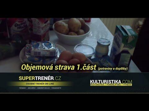 videolog - Supertrener.cz ve spolupráci s Kulturistika.com Vám přináší ukázku objemové stravy (1.část). Video je zaměřeno na vhodné potraviny a doplňky sportovní výživy...