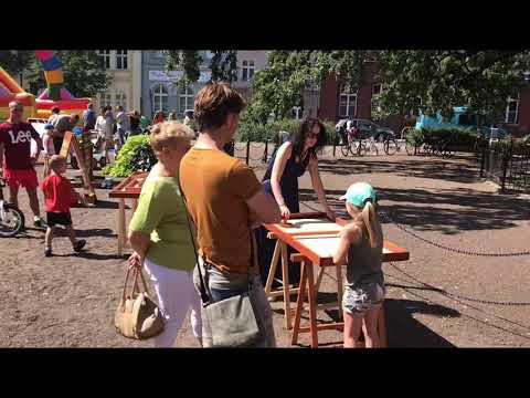 Wideo1: Rynki Śniadaniowe zagościły na plac Metziga