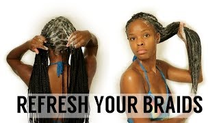 Video Box Braid Wash Day Routine | How To Keep Your Braids CLEAN And NEAT MP3, 3GP, MP4, WEBM, AVI, FLV Agustus 2018