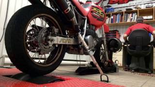 4. 2004 XR650L Supermoto Dyno Run