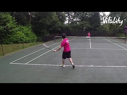 Footwork Tennis Tips | Vitality Fitness | Vitality UK