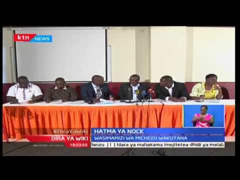 Dira ya Wiki: Mashirikisho ya Michezo yalaumu wasimamizi wa NOCK kwa kuvunjwa kwa chama, 21/10/16