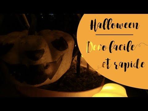 🎃 Déco d'Halloween facile et rapide pour le balcon 🎃  👻  🦇 🕸