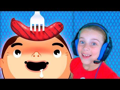 Детские игры кулинария Игры для девочек Еда для детей видео