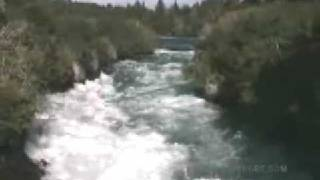 Oruanui New Zealand  city photos : New Zealand Huka Falls Jim Rogers World Adventure Traveler