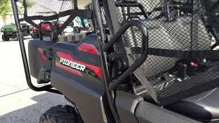 4. 2020 Honda Pioneer 700-4 Deluxe