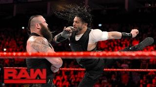 Nonton Roman Reigns attacks Braun Strowman: Raw, May 8, 2017 Film Subtitle Indonesia Streaming Movie Download