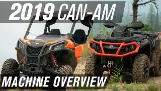 1. 2019 CAN-AM Machine Overview