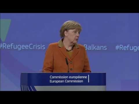 Βρυξέλλες: Συνέντευξη Τύπου για το προσφυγικό