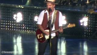 Bruno Mars - Treasure ~ Billionaire @ Live In Jakarta 2014 [HD]