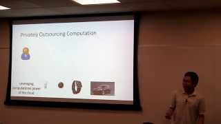 12 Jan 2015, Computing on Encrypted Data - Somewhat Homomorphic Encryption