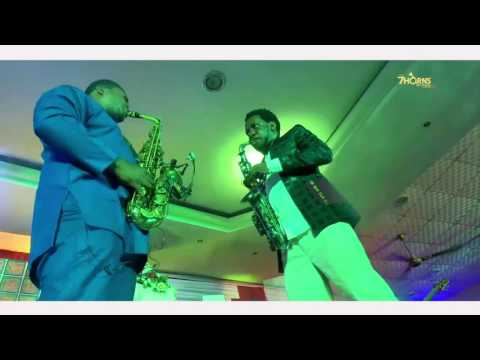 Jerry Omole & Beejay Sax At The 7HornsConcert 2016