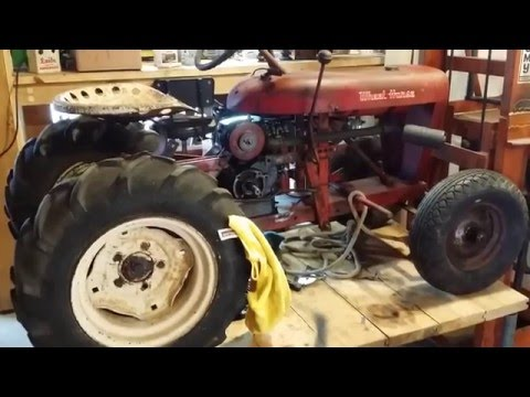 1957 Wheel Horse RJ35 Garden Tractor  Road Trip with Wheel Horse Forum's Stevebo and Fireman