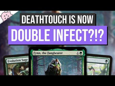 Deathtouch is now Double Infect?!? | Fynn, the Fangbearer | Kaldheim Spoiler | EDH | MTG | Commander