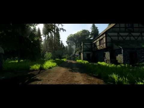 Средневековая деревня