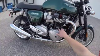 4. 2016 Triumph 1200 Thruxton - First Ride - Eurotek OKC