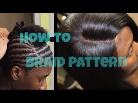 Braid Pattern Tutorial for a Lace Closure Sew in : How to