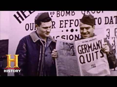 WWII in HD: VICTORY IN EUROPE: VE Day Celebrated Across the Globe, 5/8/45 | History
