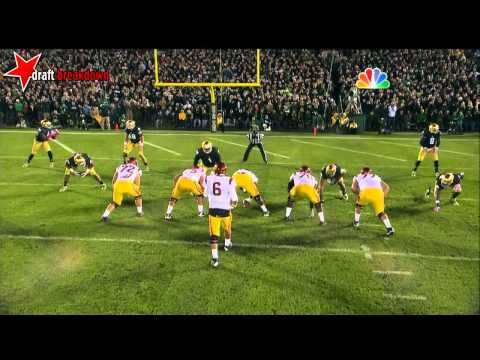 Chad Wheeler vs Notre Dame 2013 video.