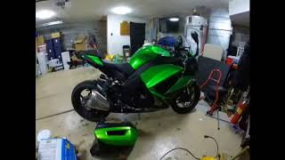 9. XRam mount install and various other accessories for 2017 Ninja 1000