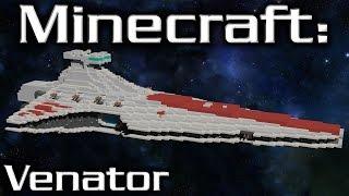 Minecraft: Star Wars: Star Destroyer Tutorial (Venator 1/10th Scale)