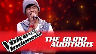 "Video Nuca ""All of Me"" I The Blind Auditions I The Voice Kids Indonesia GlobalTV 2016 MP3, 3GP, MP4, WEBM, AVI, FLV Februari 2018"