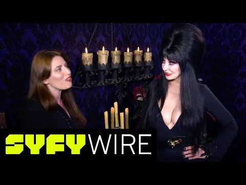 Elvira, Mistress of the Dark Gives Us a Backstage Tour of Her Halloween Show | SYFY WIRE